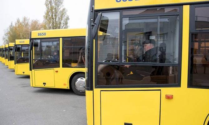 Мэр Киева посчитал, сколько автобусов нужно купить, чтобы убрать маршрутки