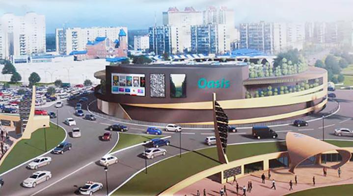"""Строительство ТРЦ возле метро """"Героев Днепра"""" закончится через год - В.Кличко"""