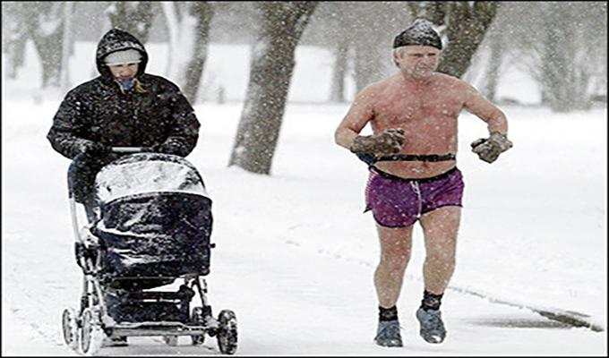 Киевлянам подсказали, когда в феврале одеваться потеплее