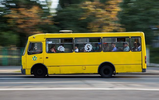 Киевские полицейские будут охотиться на маршрутки