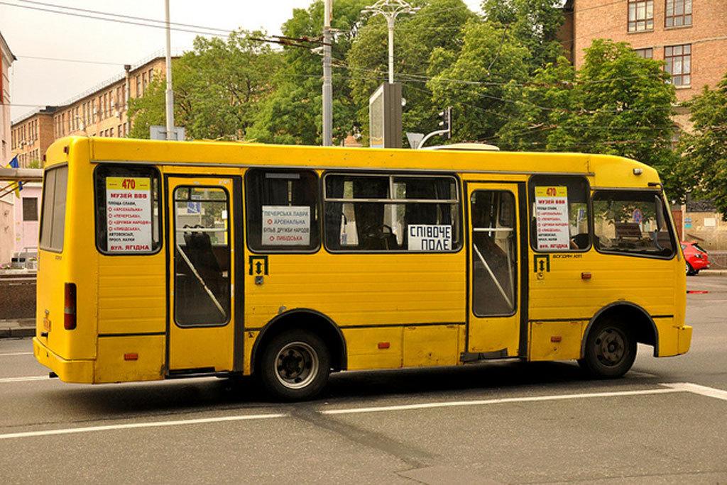 Проезд в маршрутках Киева может подорожать до 15 гривень