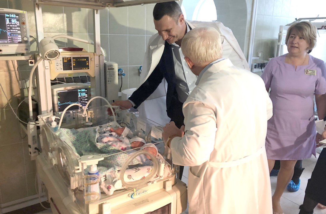 Кличко: 5-й роддом в Киеве станет одним из трех столичных перинатальных центров