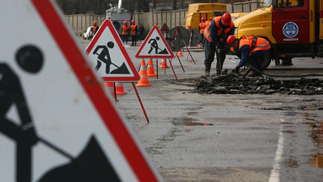 В КГГА обещают заранее уведомлять водителей о ремонте дорог