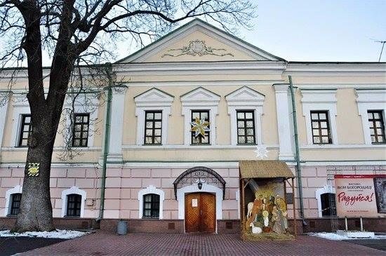 В Киеве прорвало трубу и затопило Музей Гончара