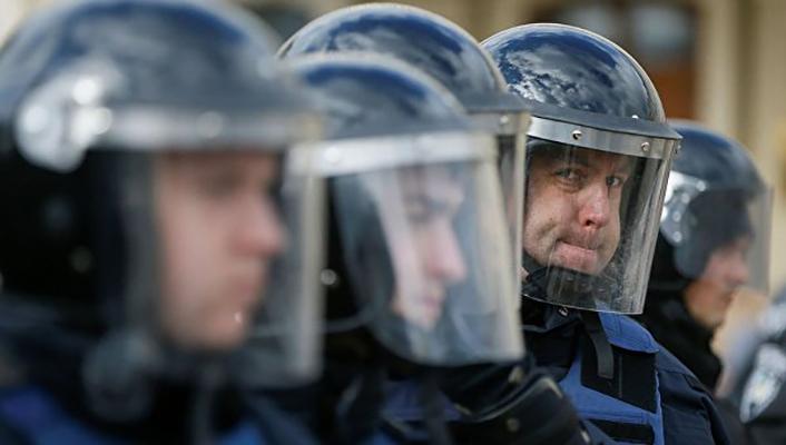 В центре Киева задержан вооруженный россиянин