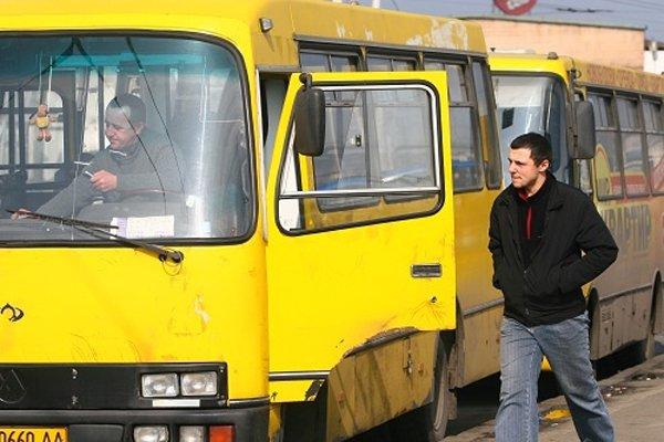 Маршрутки в Киеве останутся лишь на окраинах города