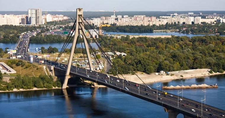В Киеве появился Северный мост