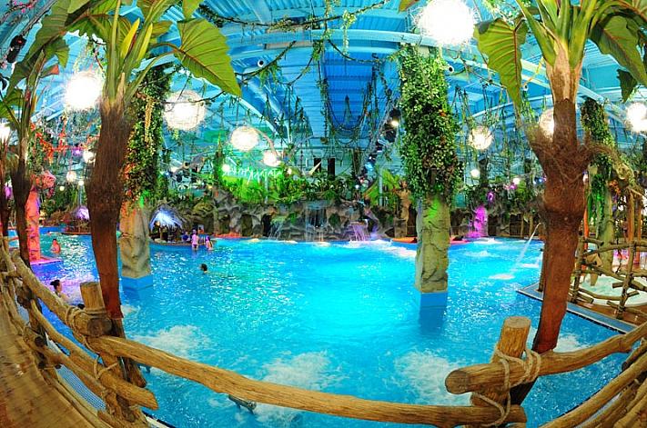 ЧП в аквапарке Киева: на ребенка упал потолок