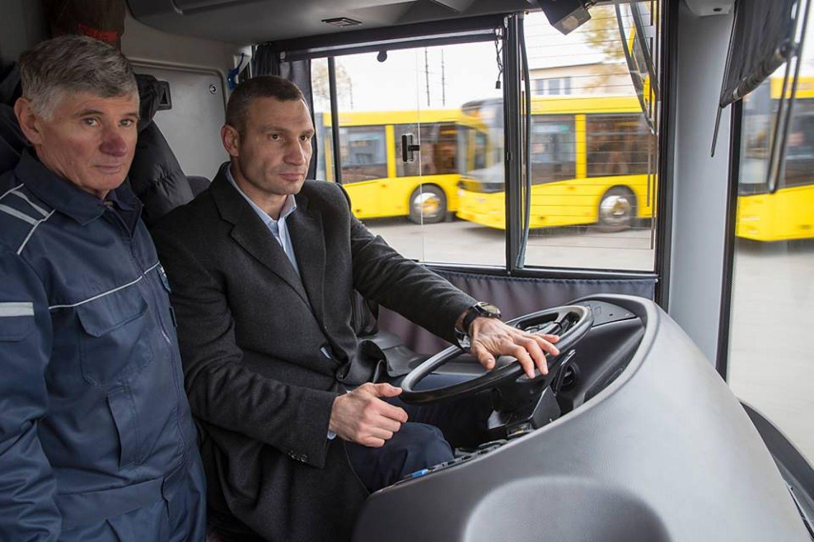 Кличко считает, что не нужно запрещать маршрутки в Киеве
