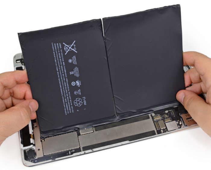 Как раскачать новый аккумулятор в iPad