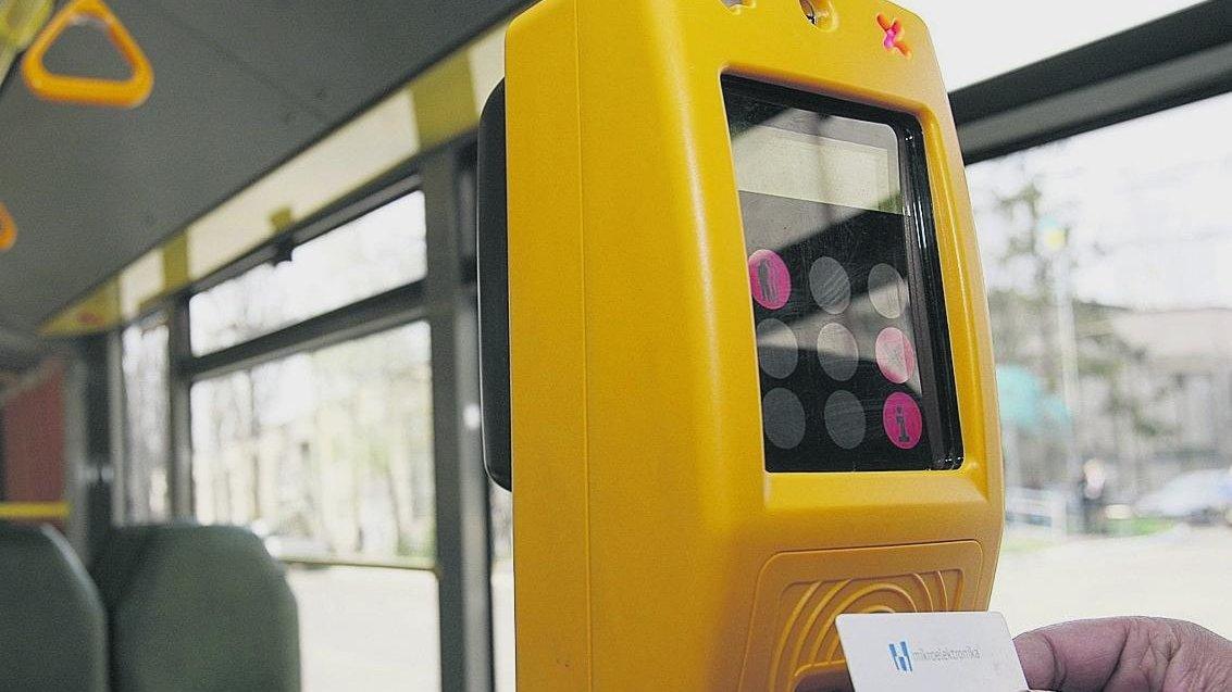 В киевском транспорте уже установили 500 валидаторов