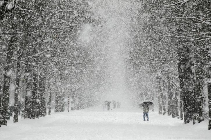 До конца недели в Киеве будет сильный снегопад