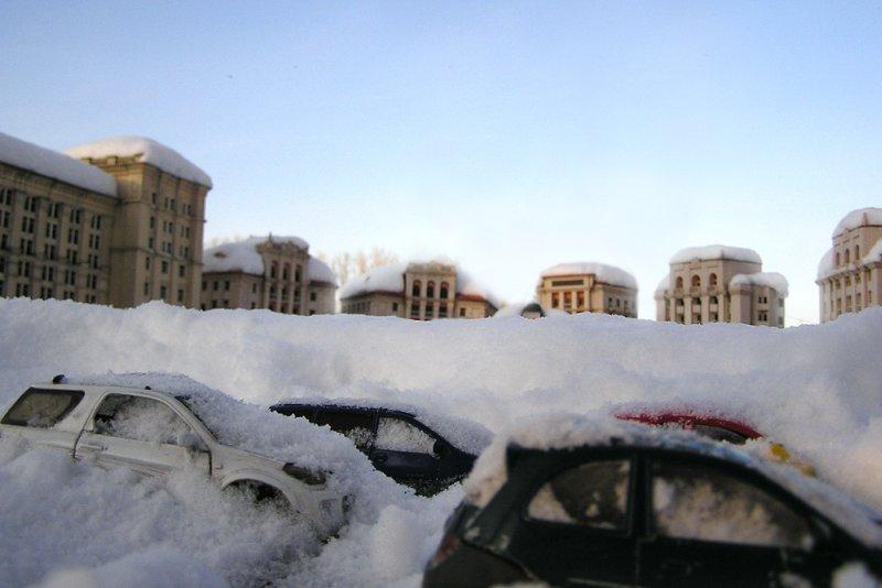 В Киеве может повториться снежный апокалипсис 2013 года