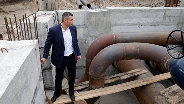 Кличко подал надежду: киевляне не замерзнут в течение двух недель