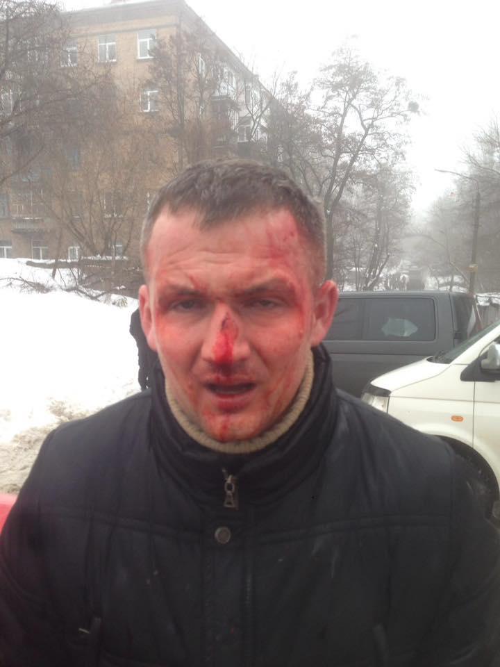 В Киеве избили народного депутата Юрия Левченко