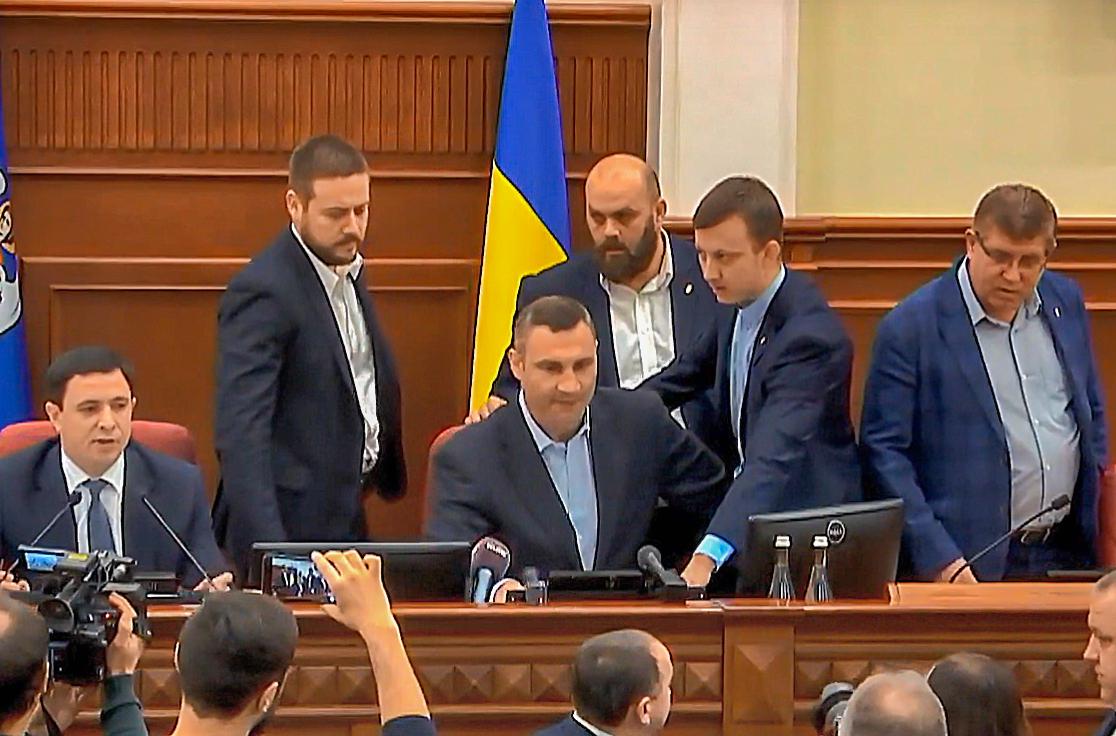 Кличко прокомментировал сегодняшнюю работу Киевсовета