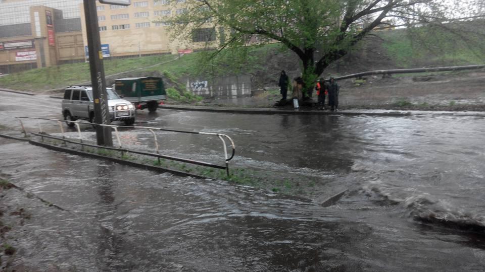 Власти Киева обещают, предотвратить катастрофу с подтоплением в Киеве