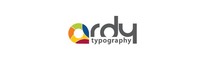 ARDY как яркий пример современной типографии