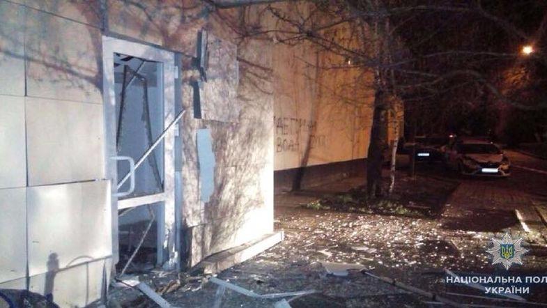 """Неизвестный пытался подорвать здание """"Киевэнерго"""""""