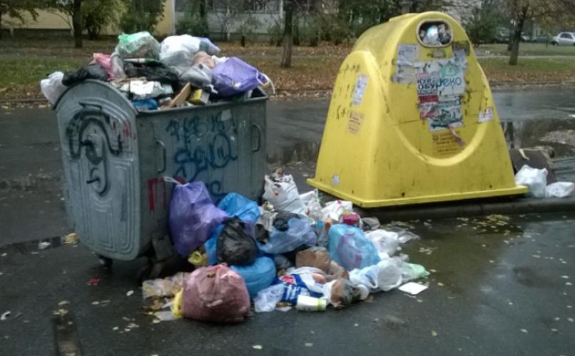 В Киеве появится новая коммунальная услуга - вывоз мусора