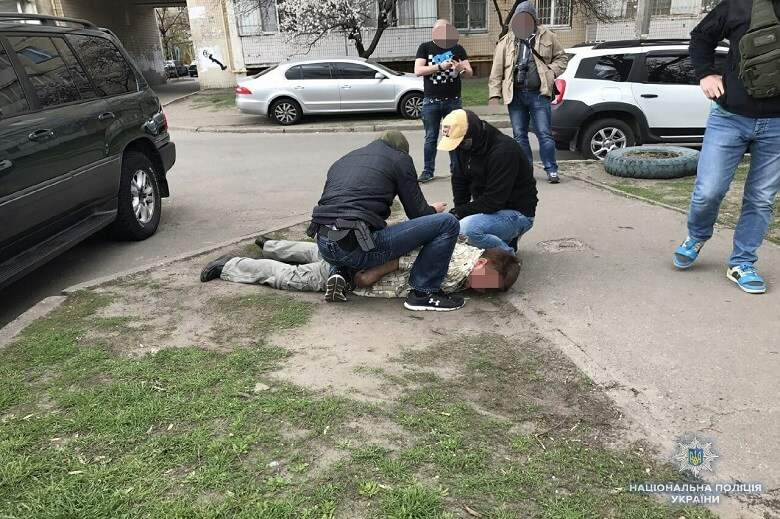 Задержан вооруженный до зубов россиянин