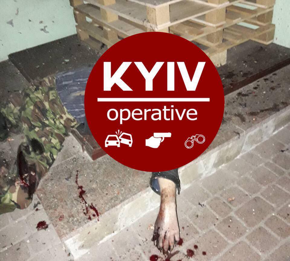 В Киеве прогремел взрыв. Мужчину разорвало на куски