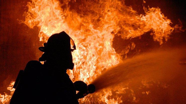 Под Киевом у хозяйки дома не выдержало сердце, когда случился пожар