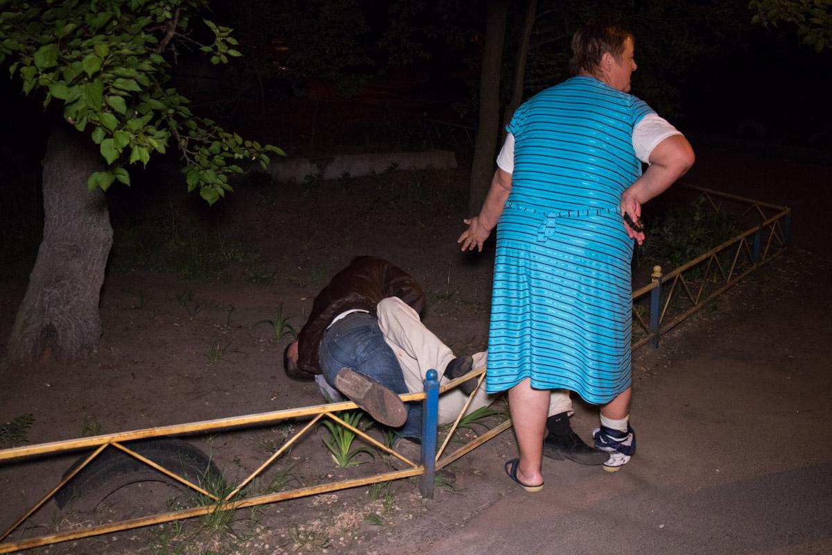 В Дарницком районе в ходе драки пострадала пьяная беременная женщина