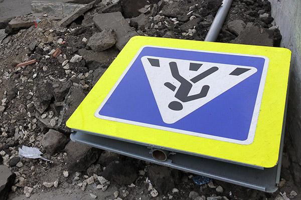 """В Киеве пешеход-нарушитель сумел сбежать с места аварии, попав под """"ГАЗель"""""""