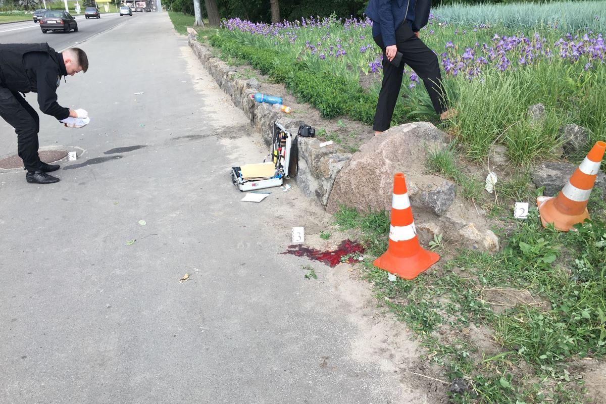 """В полиции сообщили подробности конфликта возле """"Гидропарка"""""""