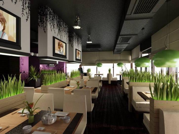 Дизайн интерьера кафе и ресторана: главные особенности