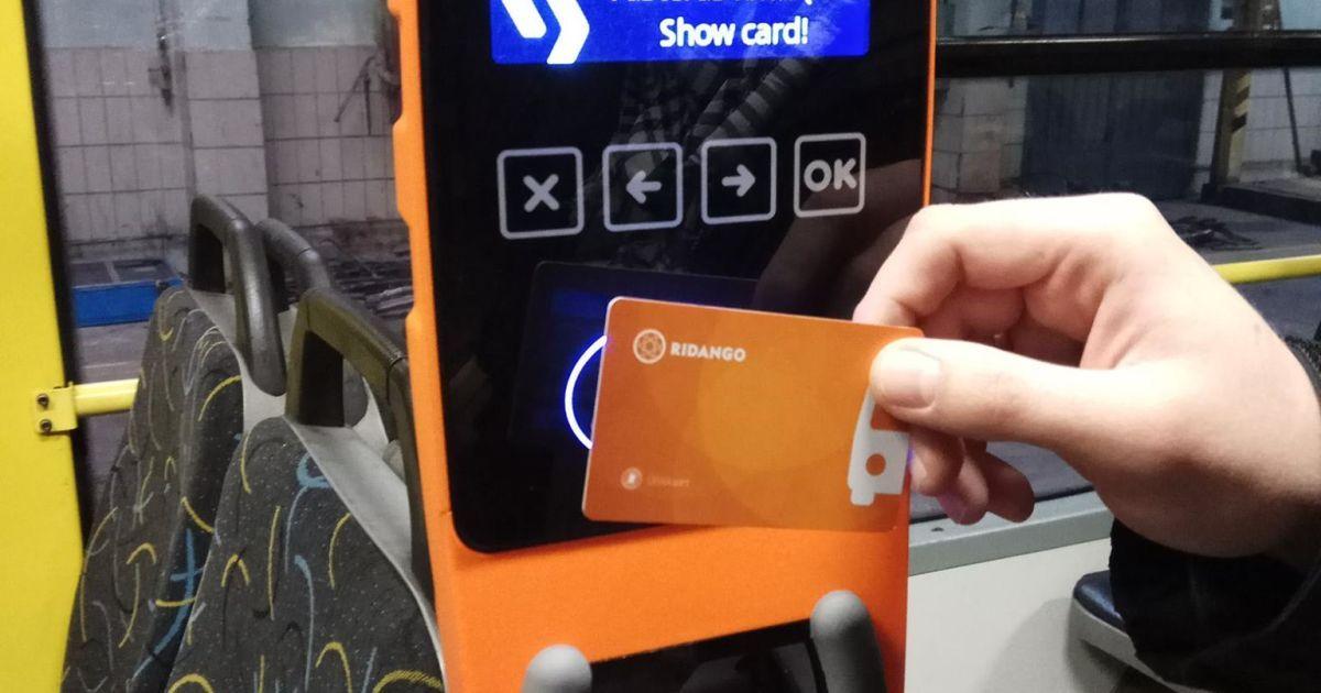 Внедрение электронного билета в транспорте Киева отложено до конца года