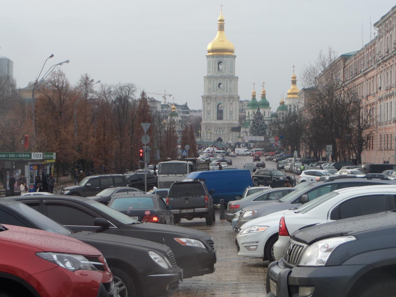 """В Киеве значительно возрастут цены на """"неправильную"""" парковку"""