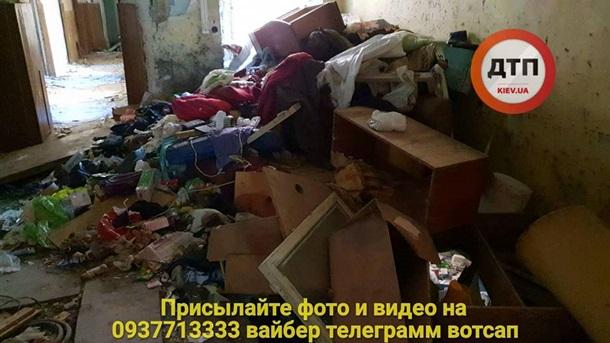 На Лукьяновке жестоко убили бездомного мужчину
