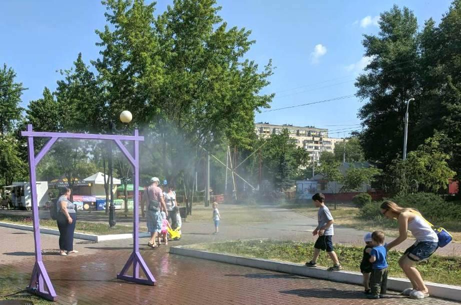 В киевские парки возвращают освежающие рамки