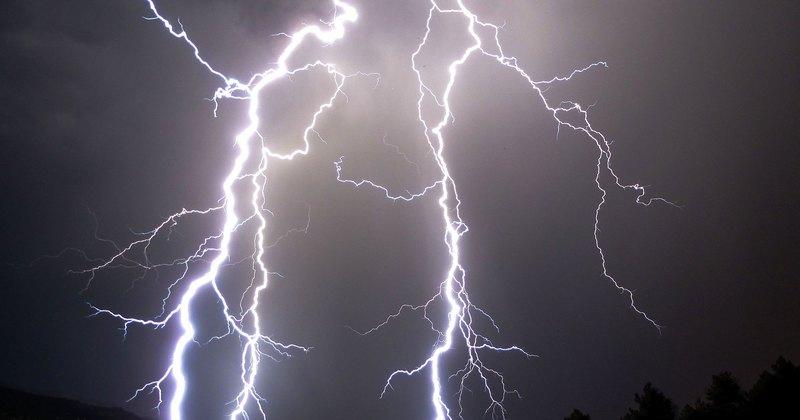 В Киеве дерево убило женщину, а молния поразила телевышку на Дорогожичах
