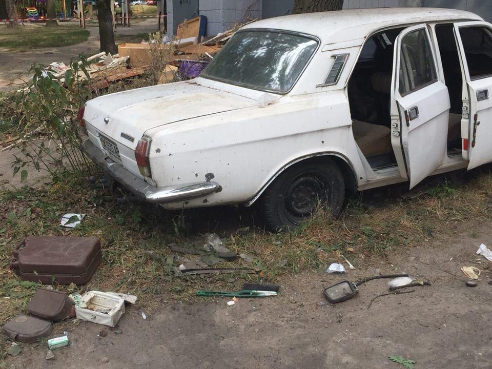 Взрыв машины в Киеве: владелец авто установил ловушку - МВД