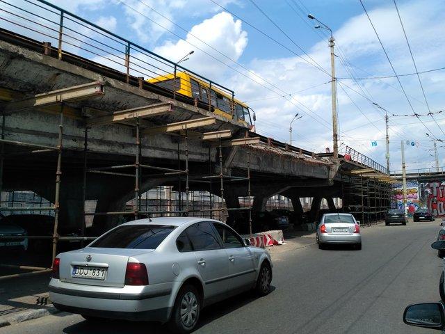 Ремонт Шулявского моста снова отложили
