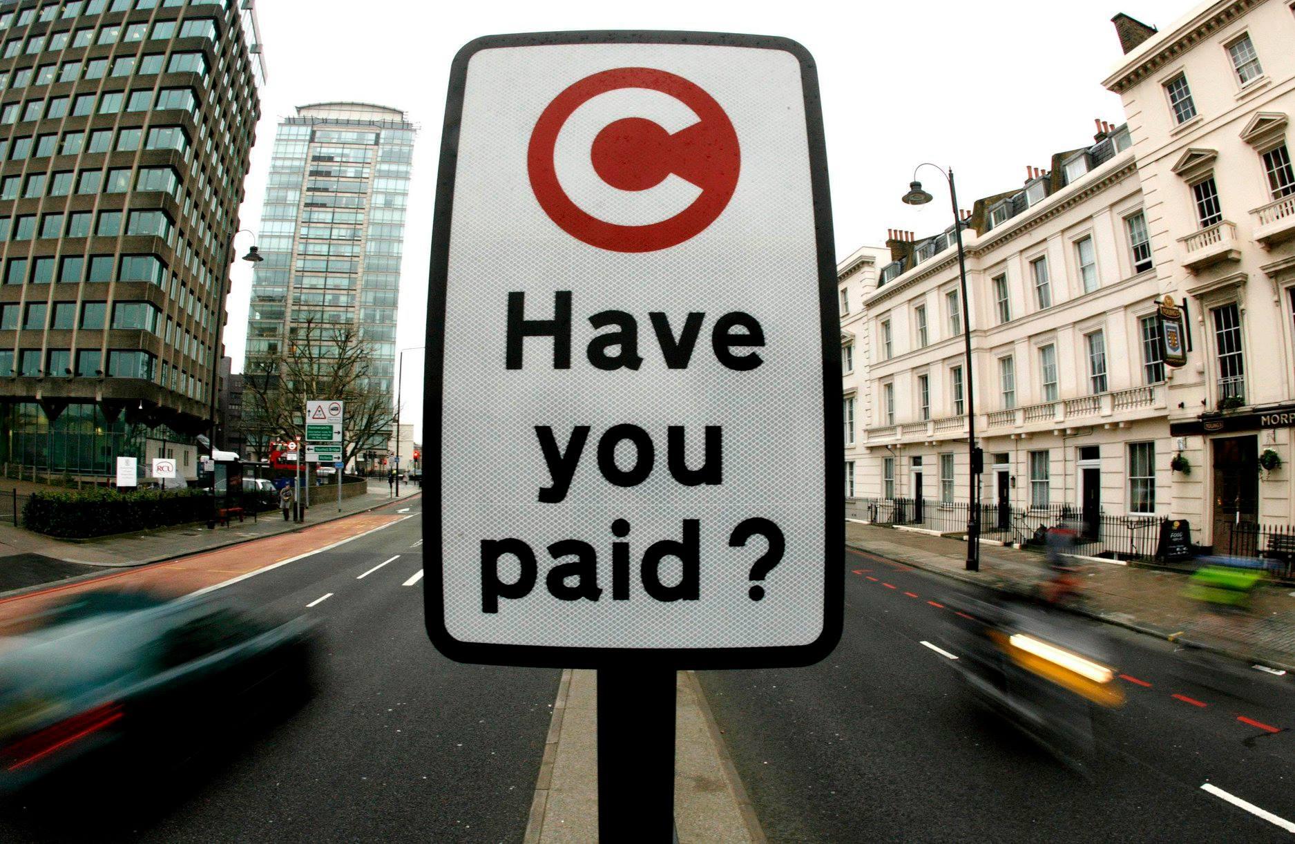Центр Киева может стать платным для автомобилей