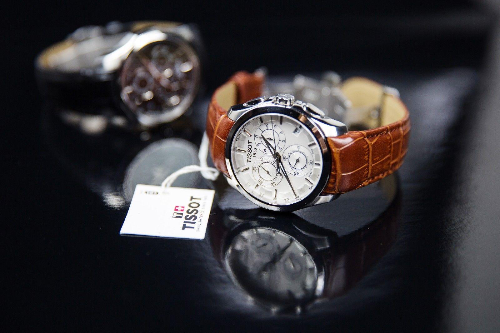 Tissot выпустил часы с хронографом размера XL