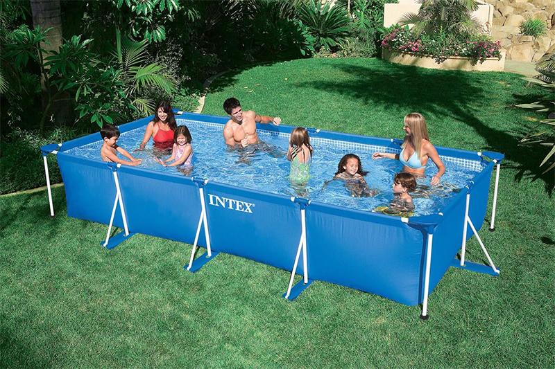 Незабываемое лето в каркасном бассейне