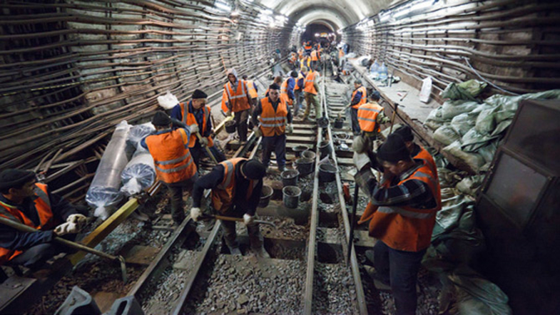Утвержден проект строительства нового участка метро в Киеве