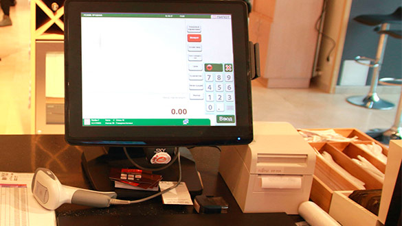 Сенсорные мониторы для ресторанного бизнеса