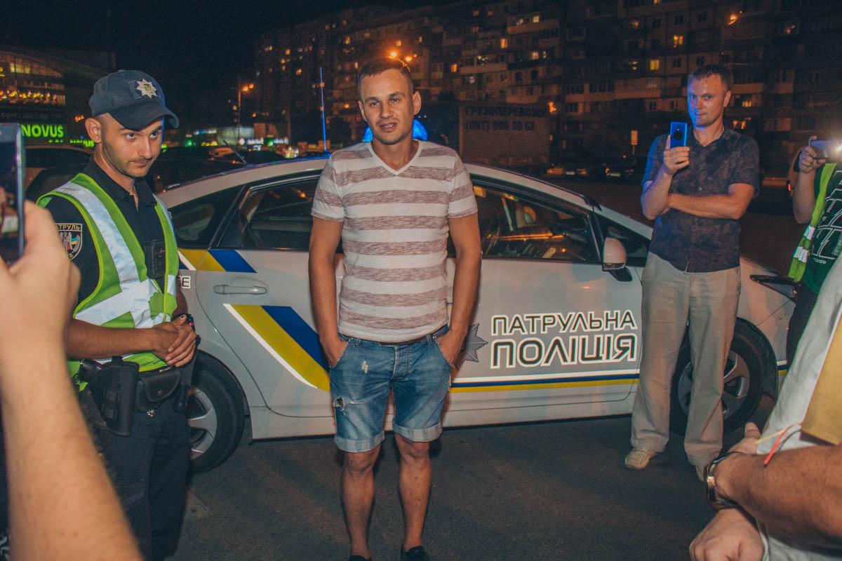 На Оболони пьяный водитель разбил сразу 7 автомобилей