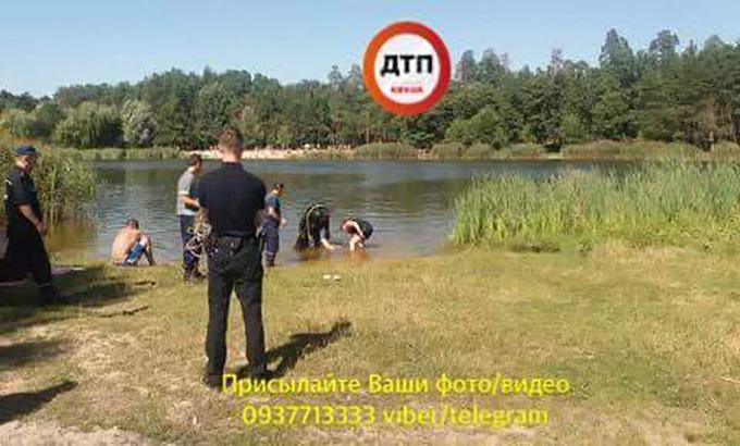 В парке Партизанской славы утонул пьяный мужчина