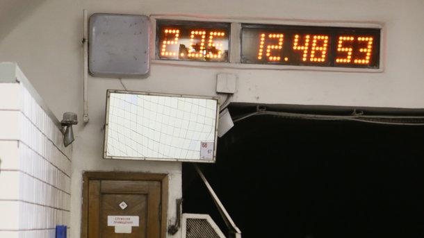 В метро могут установить новые информационные табло