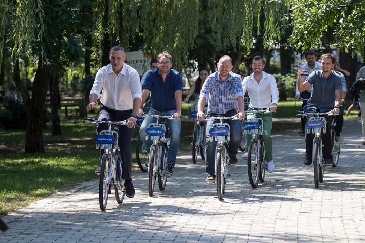 В столице заработала система велопроката