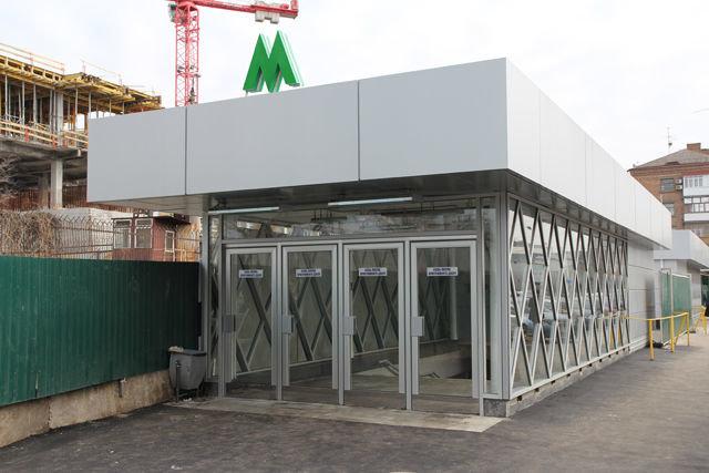 На одной станции метро до ноября закроют выход