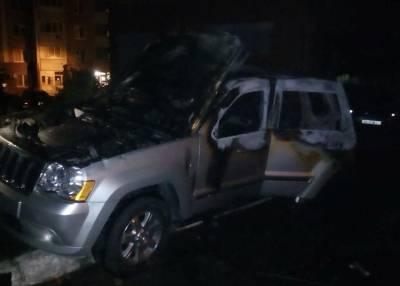 На проспекте Правды в Киеве взорвали автомобиль