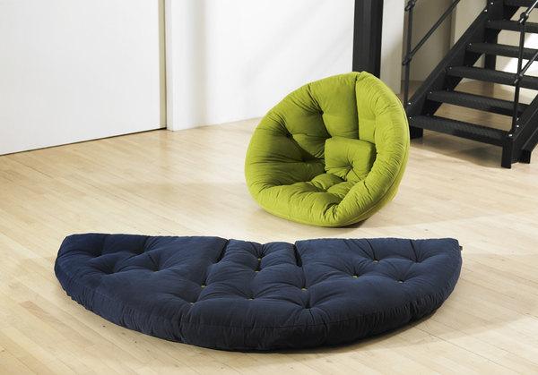 Бескаркасная мебель: преимущества